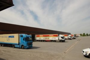 Firma NORMA Lebensmittellager Oberrossau