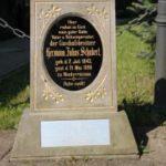 Gedenkstein neben Feuerwehrgerätehaus